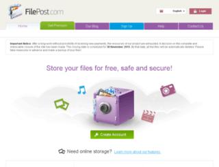 ns1.filepost.com screenshot