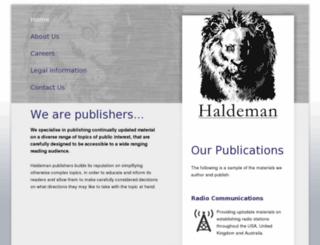 ns1.haldeman.co screenshot