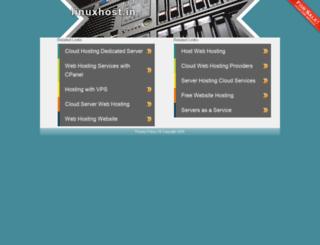 ns1.linuxhost.in screenshot