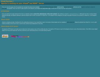 ns2.hosting.bcc.uz screenshot
