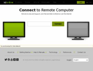 ns2.islonline.net screenshot