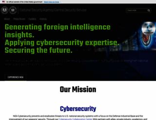 nsa.gov screenshot
