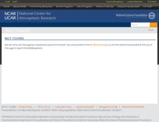 nsa.ucar.edu screenshot
