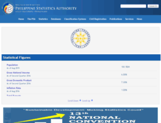 nscb.gov.ph screenshot