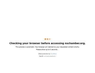 nschamber.org screenshot