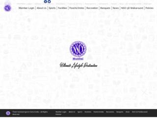 nscimumbai.com screenshot