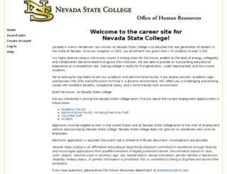 nscjobs.com screenshot