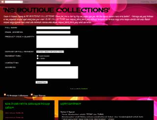 nscollections.blogspot.com screenshot