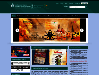 nsd.gov.in screenshot