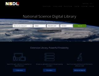 nsdl.oercommons.org screenshot