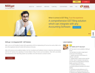 nsdlgsp.co.in screenshot