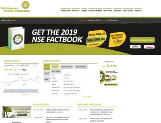 nse.com.ng screenshot