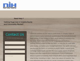 nseindiahelpline.com screenshot