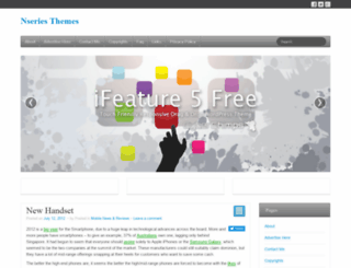 nseries-themes.com screenshot