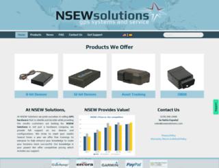 nsewsolutions.com screenshot