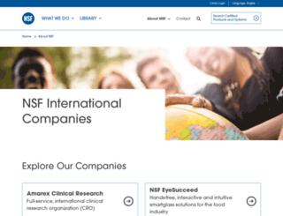 nsf-dba.com screenshot