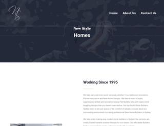 nshomes.com.au screenshot