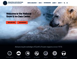 nsidc.org screenshot