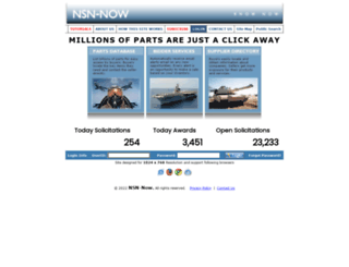 nsn-now.com screenshot
