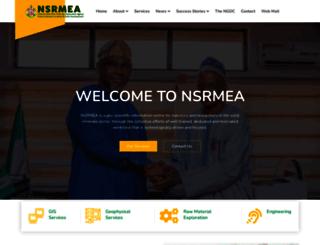 nsrmea.gov.ng screenshot