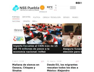 nsspuebla.com screenshot