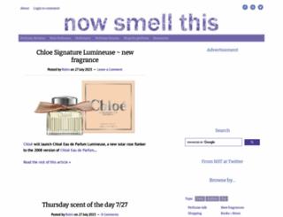 nstperfume.com screenshot