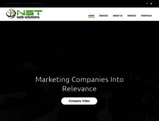 nstwebsolutions.com screenshot