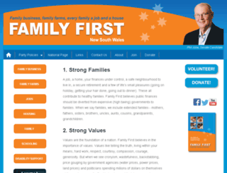 nsw-familyfirst.org.au screenshot