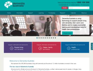 nsw.fightdementia.org.au screenshot