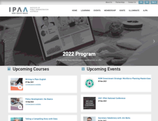 nsw.ipaa.org.au screenshot