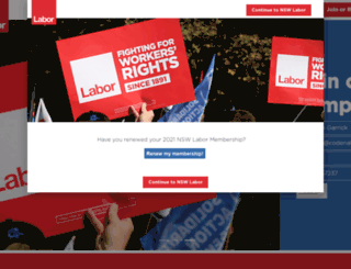 nswlabor.org.au screenshot
