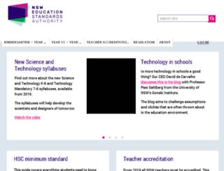 nswteachers.nsw.edu.au screenshot