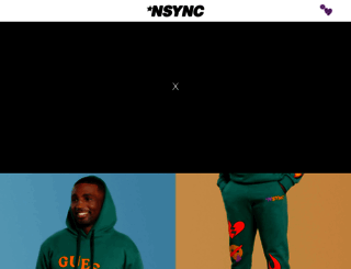 nsync.com screenshot