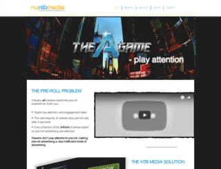 ntbmedia.com screenshot