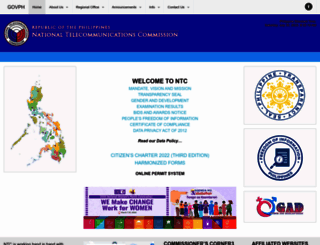 ntc.gov.ph screenshot