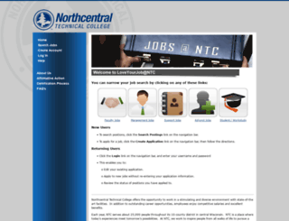 ntc.peopleadmin.com screenshot
