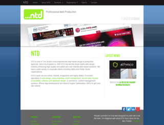 ntd.co.uk screenshot
