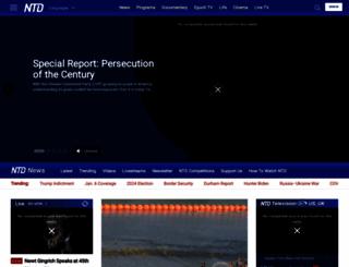 ntd.com screenshot