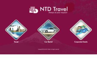 ntdtravel.com.vn screenshot