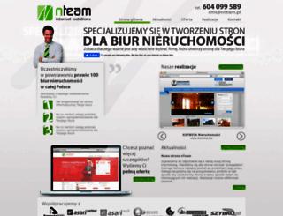 nteam.pl screenshot