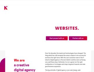 ntierinfotech.com screenshot