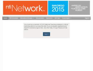 ntinetwork2015.pathable.com screenshot