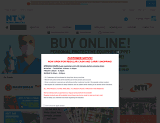 ntinternational.com screenshot