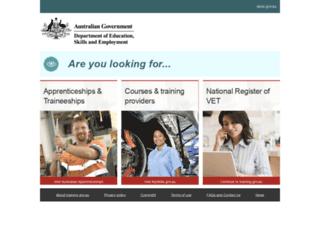 ntis.gov.au screenshot