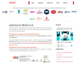 ntlhell.co.uk screenshot