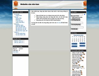 ntn-han.blogtiengviet.net screenshot