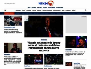 ntn24.com screenshot
