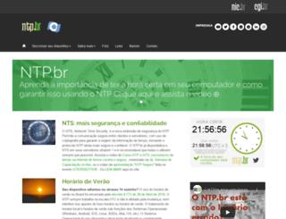 ntp.br screenshot