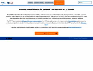 ntp.org screenshot