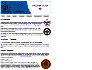 ntrail.org screenshot